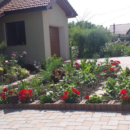 Jardiniere Drepte Roșii