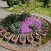 Jardiniere Potcoavă Roșii