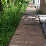 Plăci 50 x 50 x 6 Bej, perimetral în jurul casei, Făget, Cluj