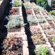 Zod de sprijin din Jardiniere Drepte Gri