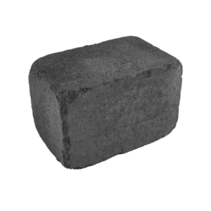 Bordură Antică Scurtă 14 x 14 x 21 Pompei (Gri-Negru)
