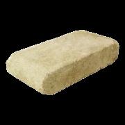 Element de treaptă antichizat Semirotund Travertin