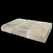 Element de Treaptă Antichizat Semirotund Pompei (Gri-Negru)