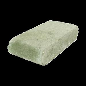 Element de Treaptă Antichizat Semirotund Verde